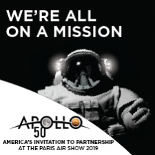 Apollo 50 Mission Paris Air Show 2019