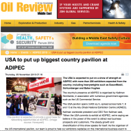 USA to Put up Biggest Country Pavilion at ADIPEC
