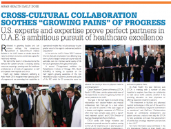 "U.S. International Collaboration Soothes ""Growing Pains"" of Progress (see p. 10)"