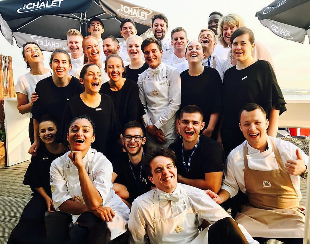 A and B London Catering Staff, Paris Airshow