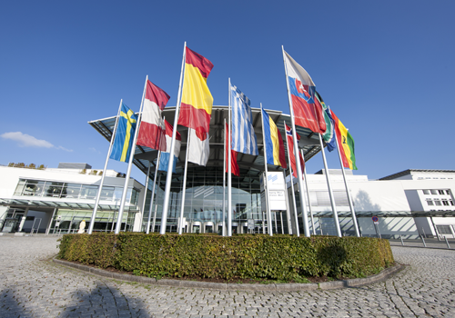 Messe Muenchen is an example of a state-of-the-art, multi-use conference and exhibition facility
