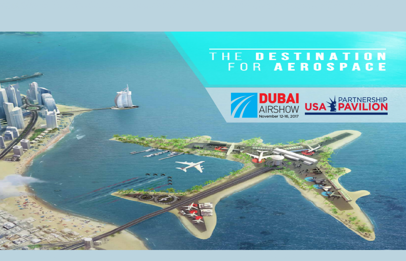 USA Partnership Pavilion at Dubai Airshow