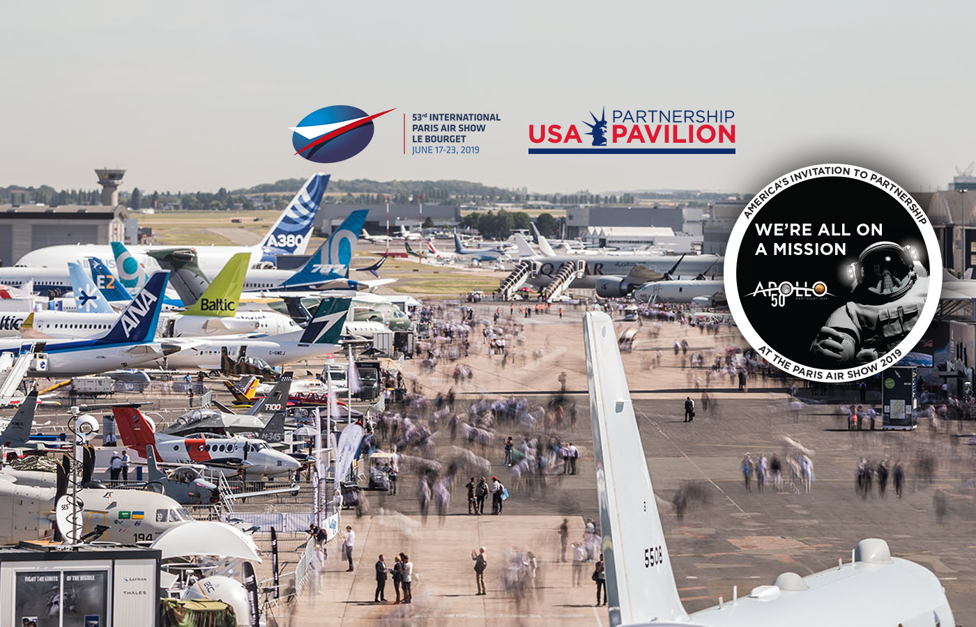 Paris Air Show 2019 Exhibitor List | Kallman Worldwide, INC