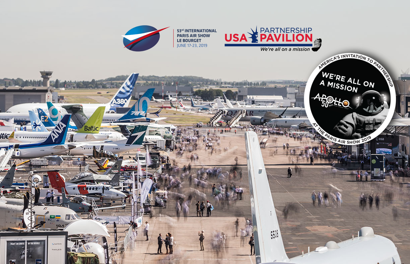 Paris Air Show 2019 USA Partnership Pavilion