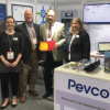 Pevco of Baltimore, MD won best in show honors for its turnkey stand design at Arab Health 2018 in Dubai last month.