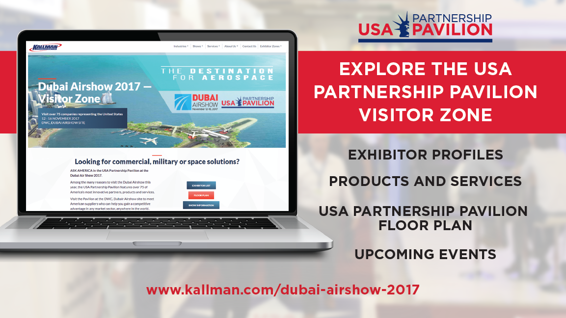Dubai Airshow 2017 USA Visitor Zone